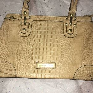 Etienne Aigner Women's Gator Tan Shoulder Bag
